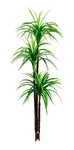 Planta Artificial Para Sala Árvore Yucca 1,50m 3 Folhas
