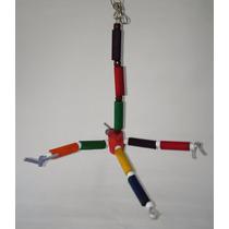 Brinquedo Girador Atrativo Para Pássaros - Calopsitas