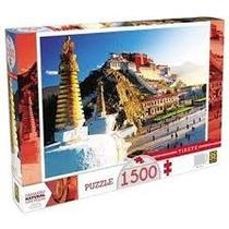 Quebra Cabeça Puzzle Tibete  1500 Peças Grow
