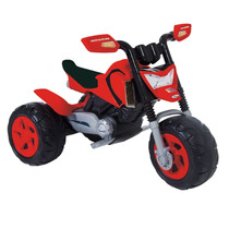 Nova Moto Elétrica Infantil Da Xalingo Elite Vermelha