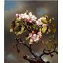 Galho Broto Flor Primavera 1867 Pintura Heade Na Tela Repro