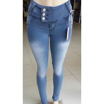 Kit 6 Calça Jeans Com Elastano Atacado Barato E Super Linda