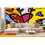 Papel Contact Adesivo Romero Britto A New Day Mais Barato