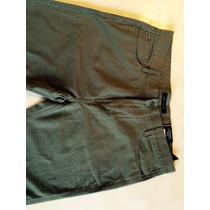 Calça Masculina Tommy Hilfiger Custom Straigth Cinza