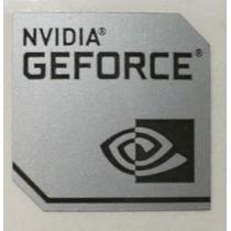 Adesivo Original Nvidia Geforce (modelo Novo) - Prata