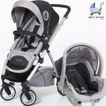 Carrinho De Bebê Maly Dzieco + Bebê Conforto (danibebe)
