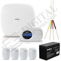 Kit Central Alarme Monitorada Intelbras Amt 2010 Completo