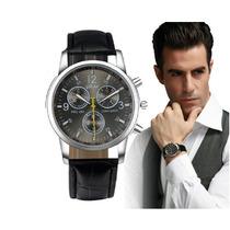Relógio Masculino Barato Digital Couro Yazole