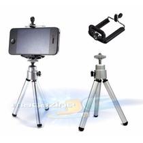 Mini Tripé Selfie Camera Digital Com Suporte Celular Iphone