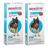 2 Bravecto Antipluga Para Cães De 20 A 40kg - Full