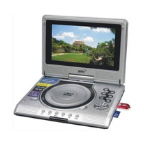 Dvd Portatil Midi 7 Gir. Tv Divx Mp3 Usb Sd Jogos Bolsa