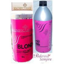 Po Descolorante #rosa,ox De 40vl Magnific Hair, Frete Gratis