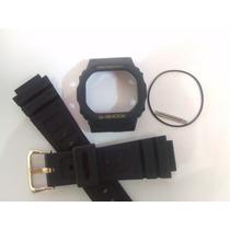 Kit Capa/pulseira + Vedação Casio G-shock Dw-5600, 5200 Ouro