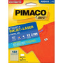 Etiqueta A5q-813 Pimaco Cx C/ 12 Folhas 2184 Etiquetas