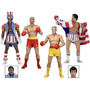 Rocky 4 Rocky Drago Apollo Creed 40 Th Anniversary Neca 2017