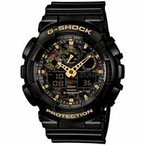 Relógio Casio Ga-100cf-1a9dr G-shock Camuflado Frete Gratis