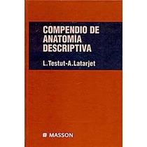 Testut L Compendio De Anatomía Descriptiva 22 Ed © 1996 R 20