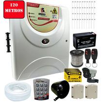 Kit Cerca Elétrica Residencial 120 Metros + Brinde