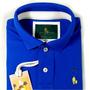 Camiseta Polo Sheepfyeld Masculina Bordada - Pronta Entrega