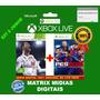 Fifa 18 + Pes 18 Xbox 360 Original-mídia Digital Kit 2 Jogos