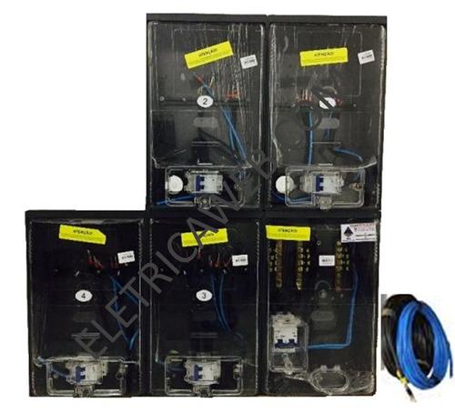 aff63b53123 Caixa Padrão Eletropaulo Para 4 Relogios R 839 v4GNX - Precio D Brasil