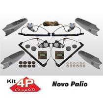 Kit Vidro Eletrico Palio Siena Novo 4p Completo Sensorizado