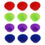 12 Mini Formas Redondas Em Silicone P/ Cupcake Bolo Pudim
