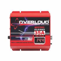 Fonte Automotiva Overloud 35a 14.4v Bivolt Voltimetro Spark