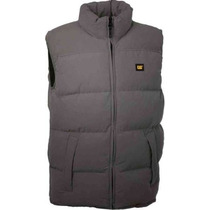 Colete Masculino Caterpillar Quilted Insulated Vest- Grafite