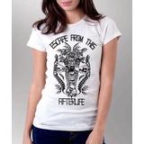 Camiseta Blusa Feminina Afterlife Avenged Sevenfold