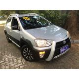 Toyota Etios Cross 1.5 Xls Top Bancos Couro Sem Entrada +999