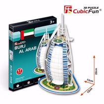 Quebra Cabeça Puzzle 3d Burj Al Arab Brinquedo Hobbie