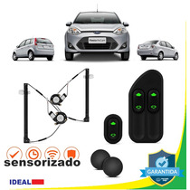 Kit Vidro Elétrico Fiesta 2012 4pts P/ Dianteiras Sem Juros