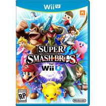 Jogo Super Smash Bros For Wii U Nintendo Original Lacrado