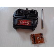 Kit Controle, Receptor E Antena Carrinho New Dragon Candide