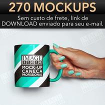 Mockup Psd Para Caneca, Copo Café E Xícara 270 Modelos