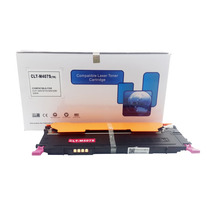 Kit Cartucho Toner Compat Samsung Clp C407 M407 Y407 K407