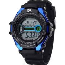 Guga Kuerten Relógio Masculino Digital Gk6150 Frete Grátis