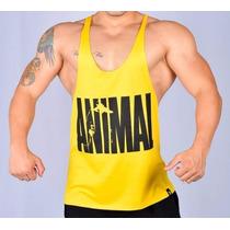 Camiseta Regata Super Cavada Animal Universal P/ Musculação