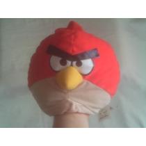 Pelúcia Fantoche Angry Birds Vermelho Lacta - Usado