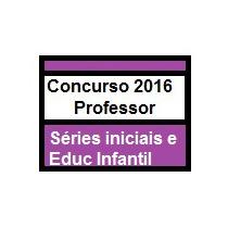 Simulado Conc Professor Educação Infantil E Série Iniciais