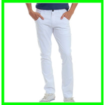 Calça Masculina Jeans Sarja Slim 36 Ao 46 Veste Excelente