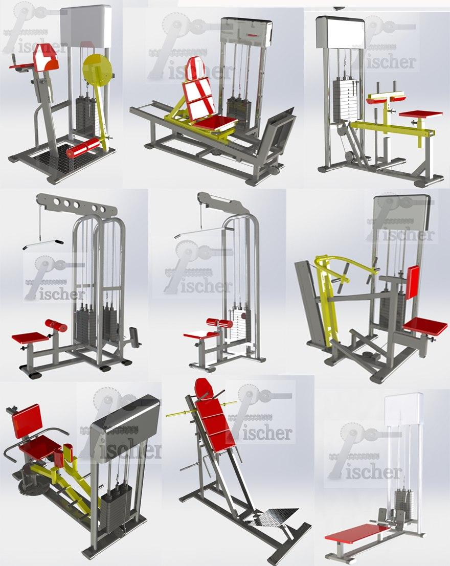 aparelhos de academia