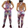 Kit Com 3 Macacão Comprido Fitness - Gym - Academia - Malhar