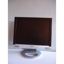 Monitor Lcd De 14 Polegadas Positivo+cabo Vga E Força