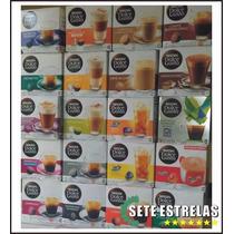 Kit 6 Caixas Nescafé Dolce Gusto 96 Cápsulas Todos Sabores