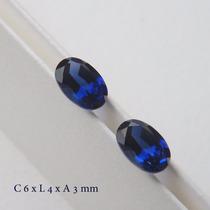 Safira Pedra Preciosa Preço Do Par Safira Azul 3063 A