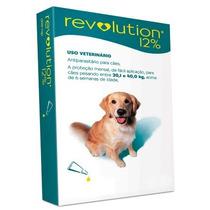 Anti Pulgas Revolution Para Cães De 20,1 A 40 Kgs