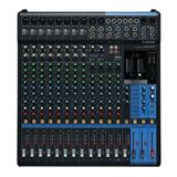 Mesa De Som Yamaha Mg16xu | Efeitos | Usb | Original | Nfe