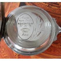 Relogio De Bolso Antigo Remontoir Cylindre - Prata Teor 800
